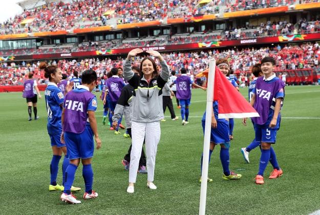 ผลการค้นหารูปภาพสำหรับ มาดามแป้งเชื่อ23แข้งลงตัวพร้อมลุยบอลโลกหญิง