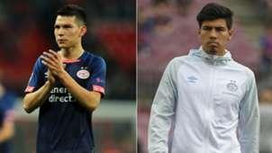 Hirving Lozano - Érick Gutiérrez PSV