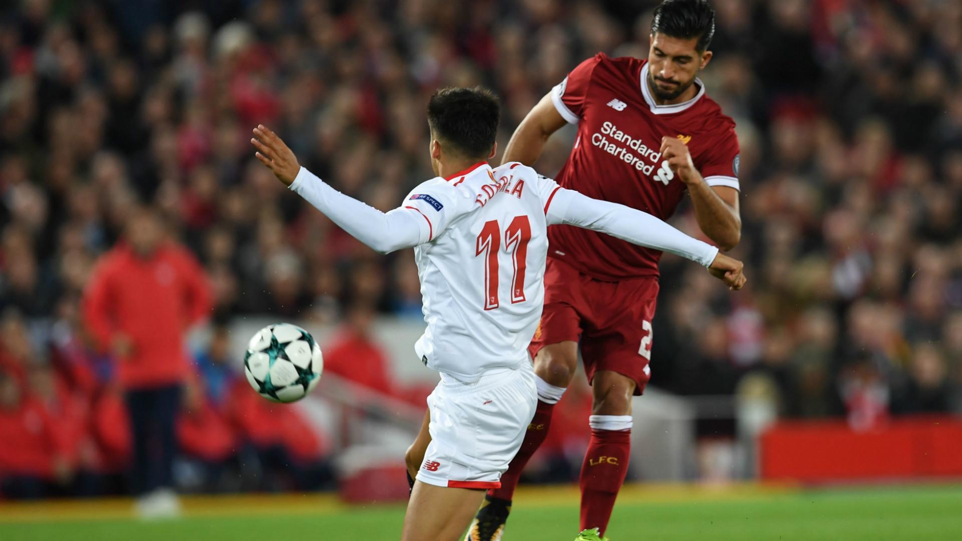 Liverpool Sevilla Champions League 13092017