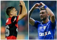 Cuéllar Arrascaeta Flamengo Cruzeiro Copa Libertadores