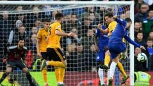 Eden Hazard Chelsea vs Wolves 2018-19