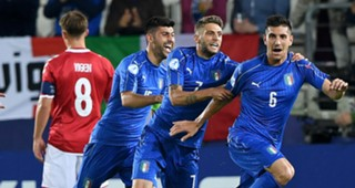 Lorenzo Pellegrini Denmark Italy UEFA U21 Championship
