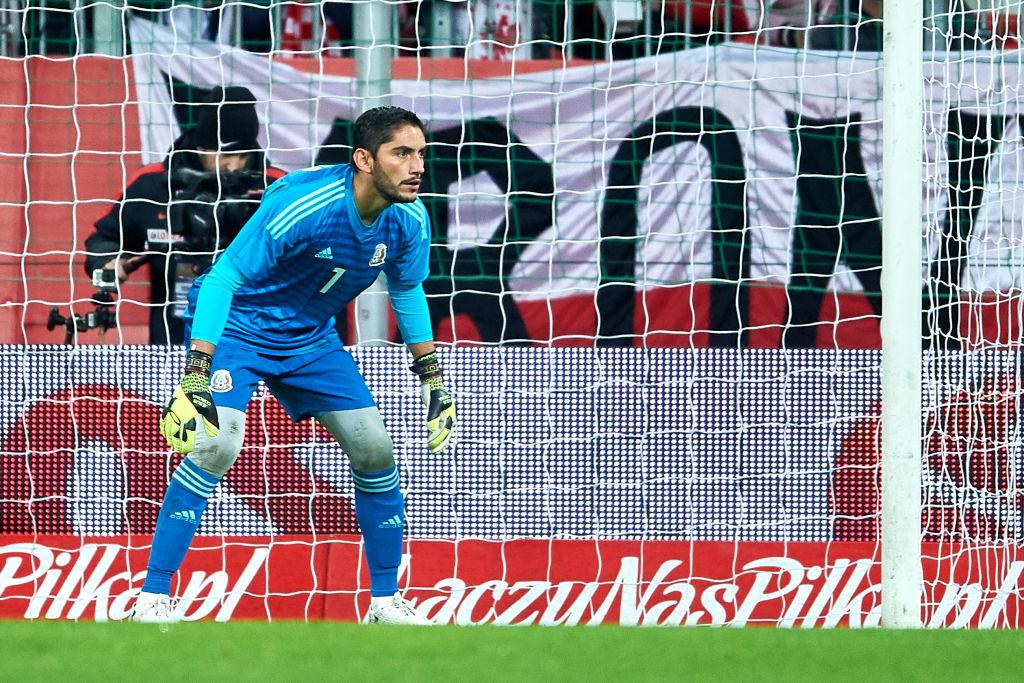 Jesús Corona Selección mexicana 211117