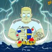Kroos destroys the Swedish ship copy - cartoon 24062018