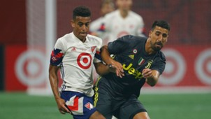 Tyler Adams Sami Khedira MLS All-Stars Juventus 2018