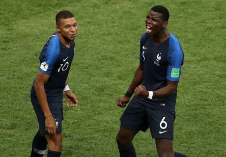 Vive le France! Mbappe, Pogba and Griezmann rule the world