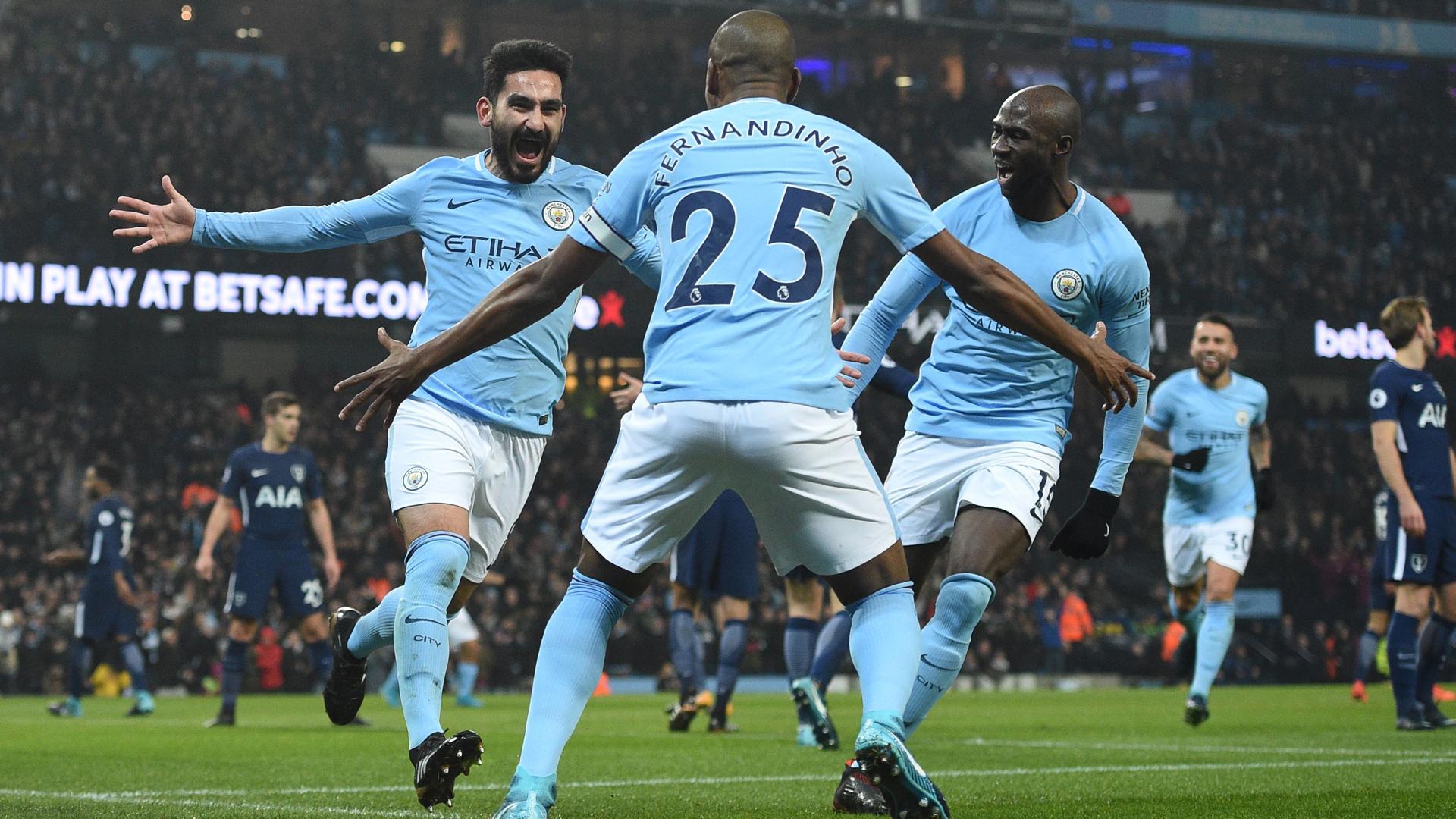 Ilkay Gündogan Manchester City 16122017
