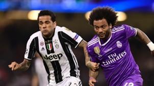 Dani Alves Marcelo Juventus Real Madrid Champions League final 03062017