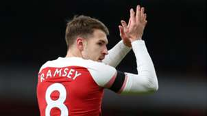 Ramsey Arsenal Fulham 2019