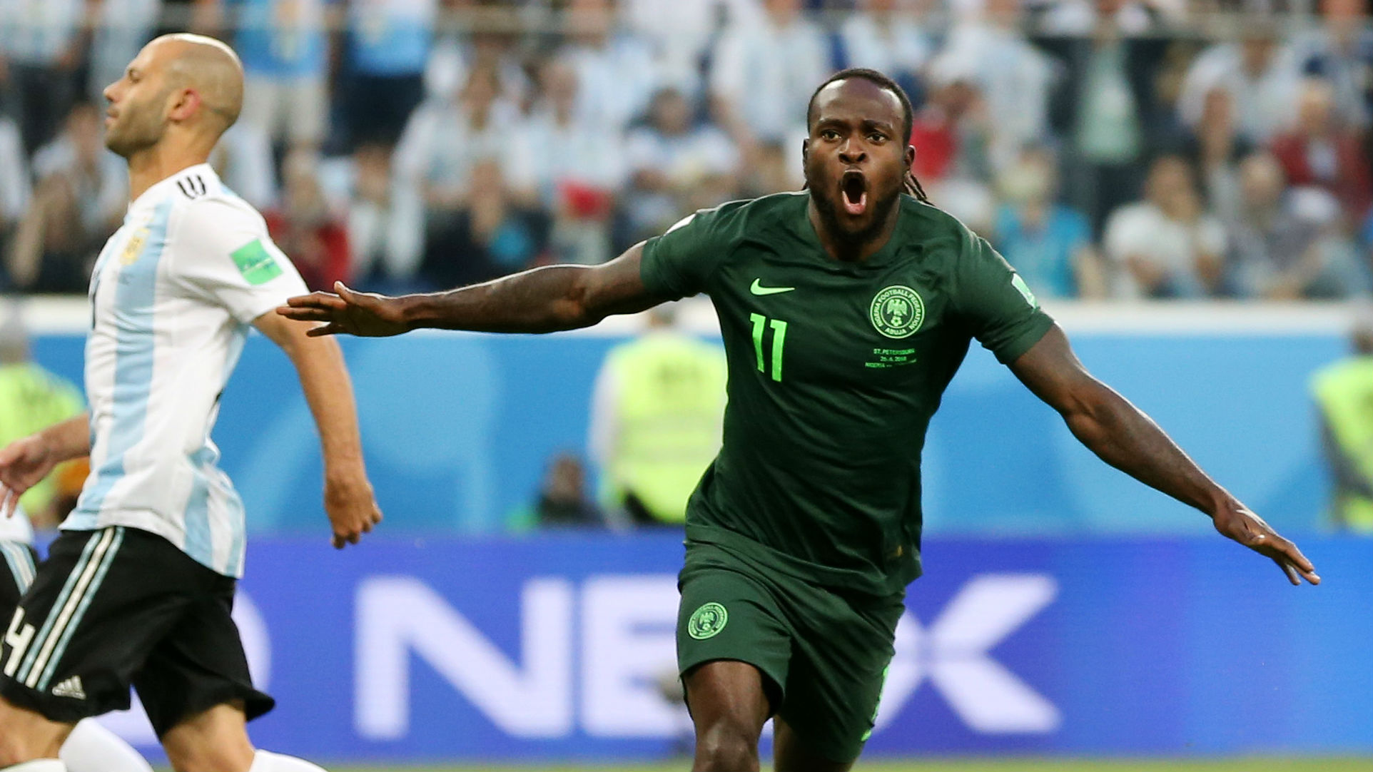 Chelsea's Victor Moses retires from international football