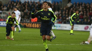 HD Alexis Sanchez Swansea Arsenal