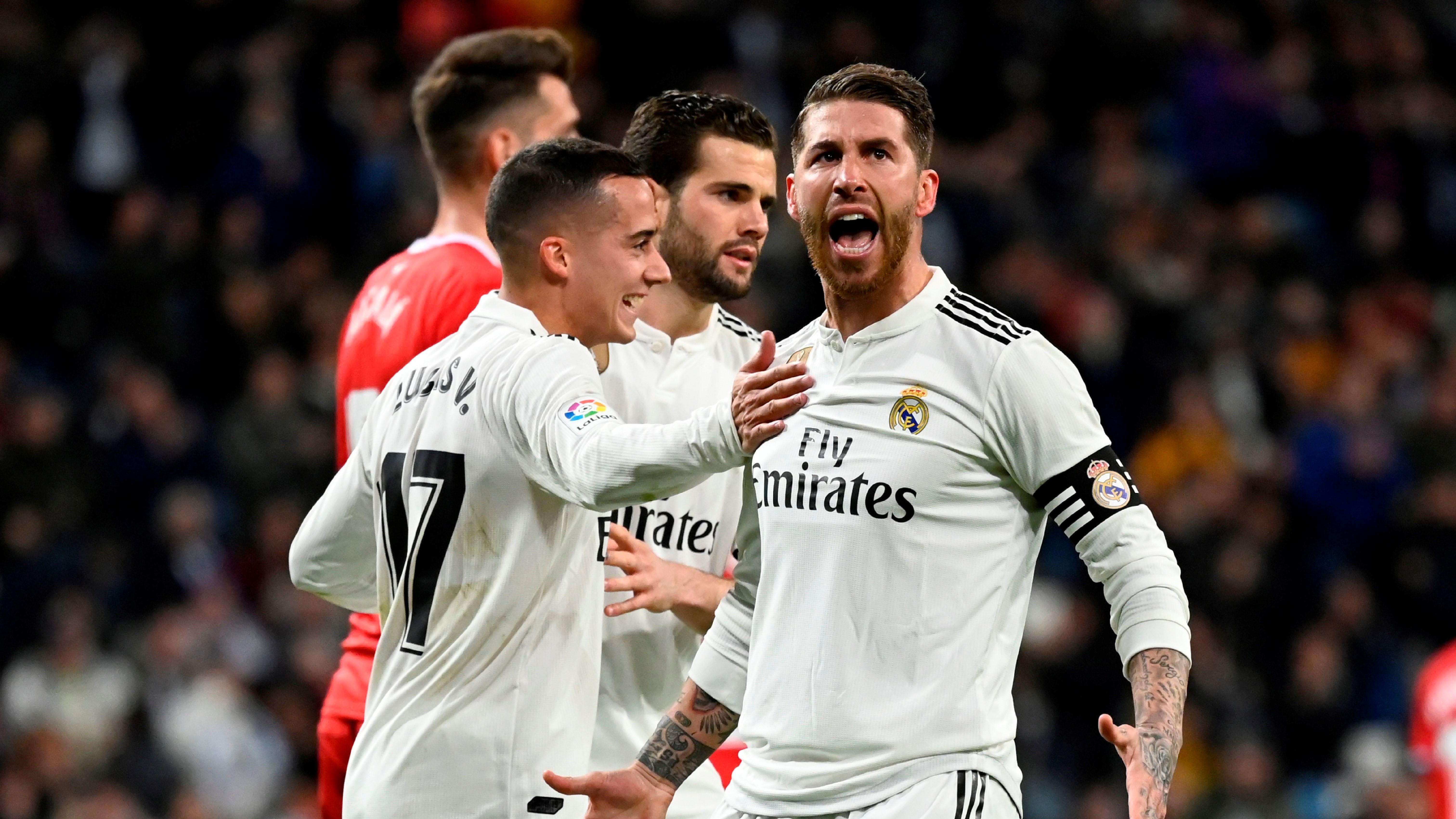 Sergio Ramos Real Madrid Girona Copa del Rey 24012019