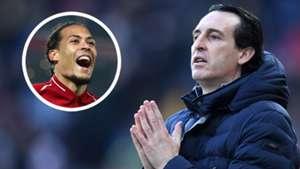 """Arsenal, Emery attend des recrues """"comme Van Dijk"""" cet été pour réduire l'écart avec Liverpool et Manchester City"""