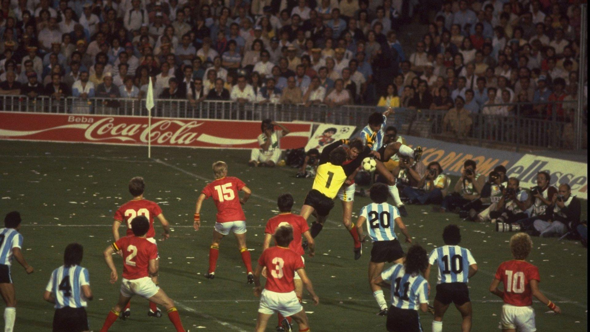Argentina vs. Belgia 1982