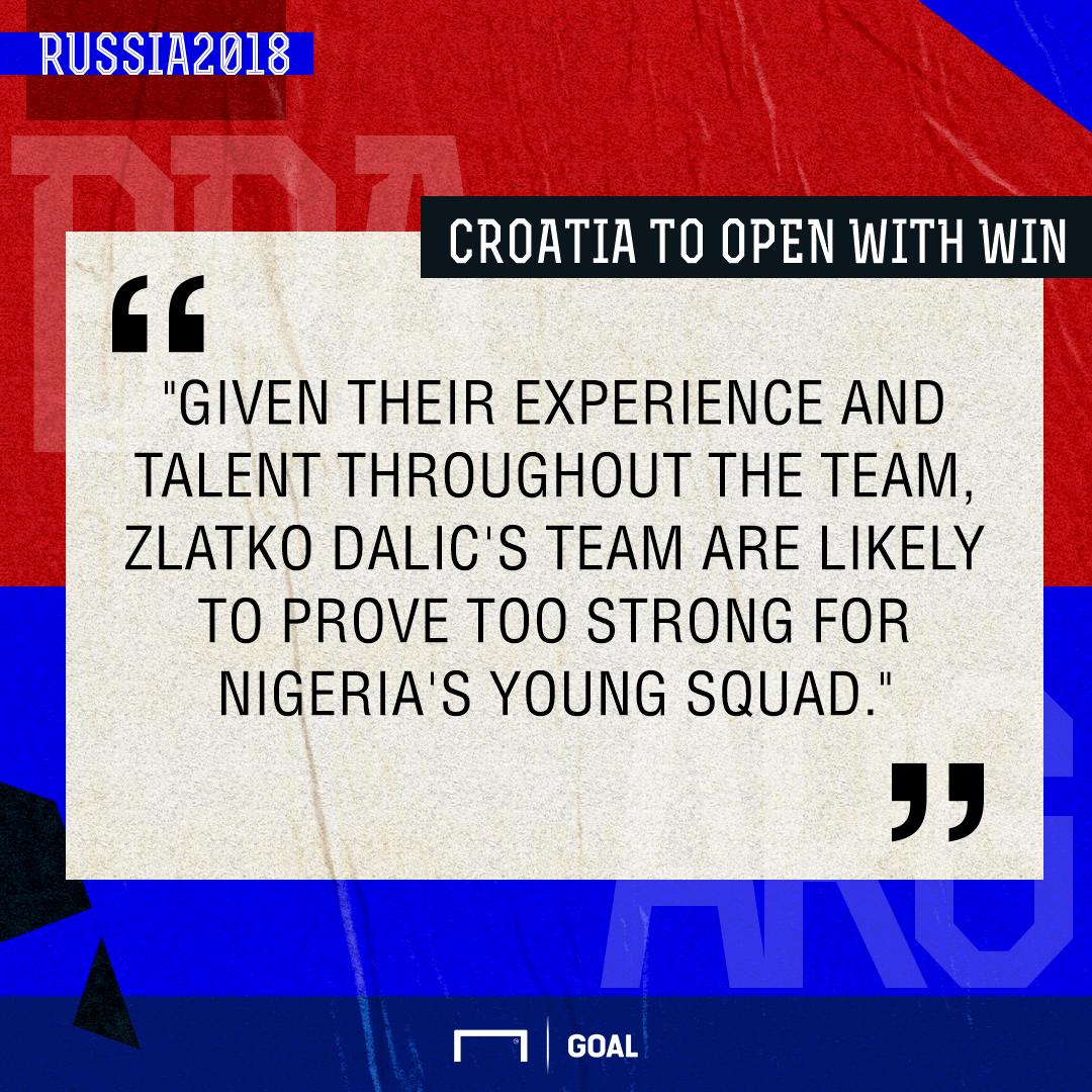 Croatia Nigeria graphic