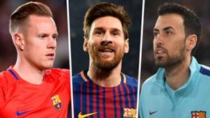 Buquets Messi Ter Stegen Barcelona