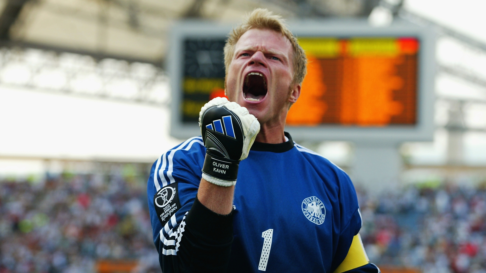 Oliver Kahn Germany World Cup 2002