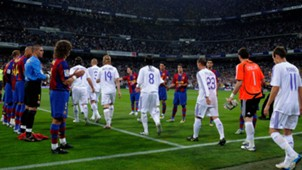 Barcelona Real Madrid Pasillo