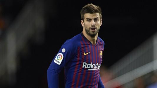 Gerard Pique FC Barcelona 2018