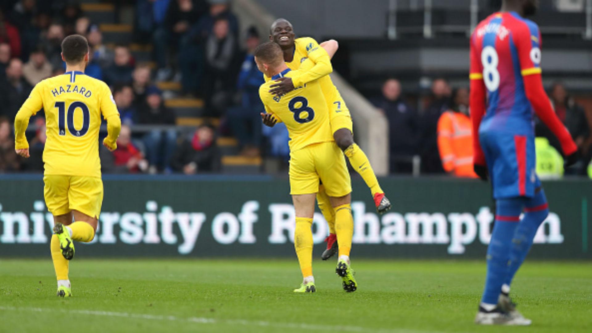 Chelsea : Giroud s'est blessé contre Crystal Palace