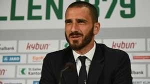 Leonardo Bonucci press conference Italy