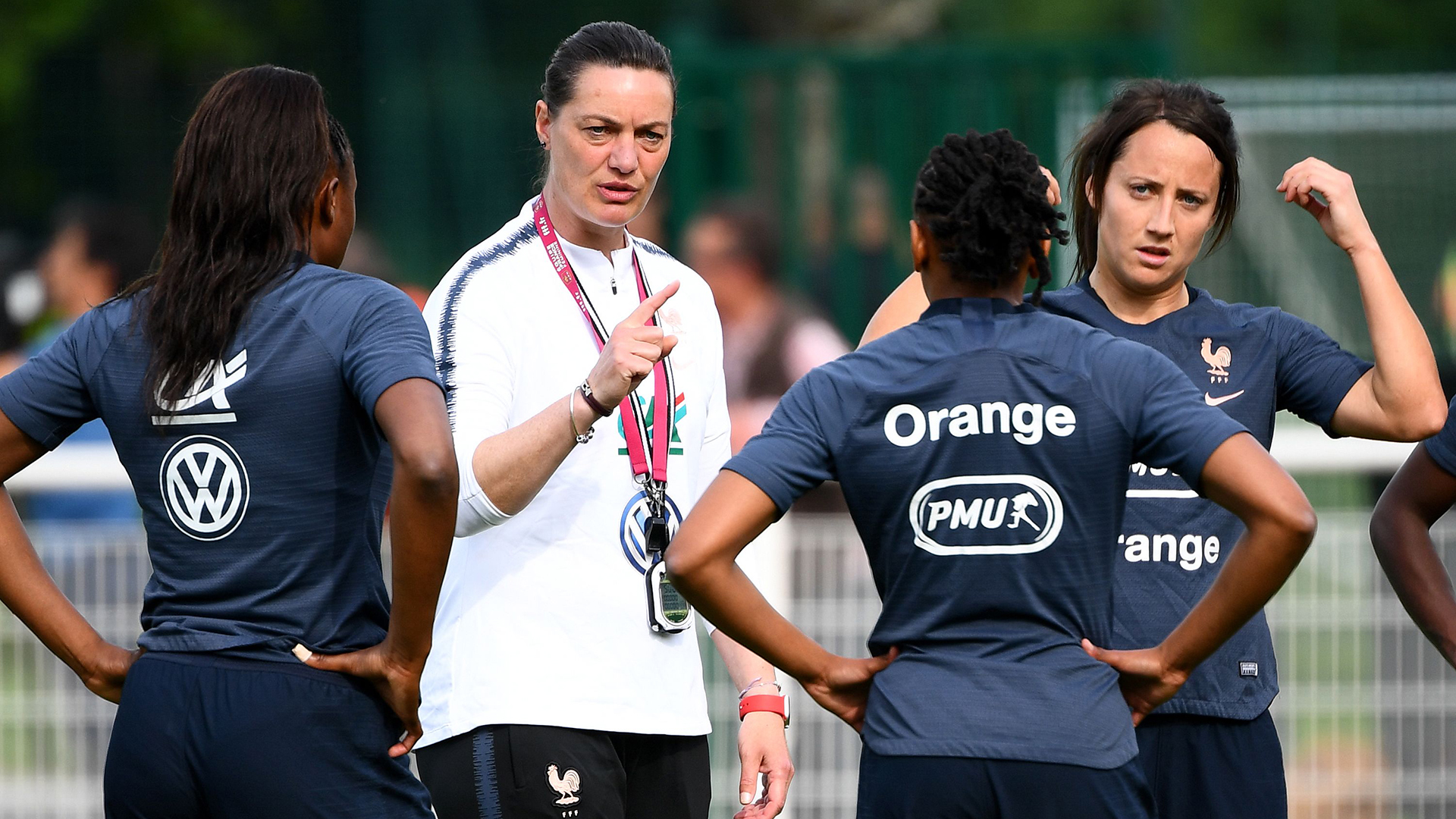 Corinne Diacre France Squad Women's World Cup 2019
