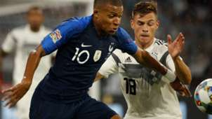 KYLIAN MBAPPE FRANCE JOSHUA KIMMICH GERMANY NATIONS LEAGUE 06092018