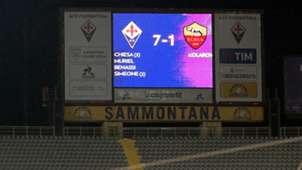 Fiorentina Roma Coppa Italia