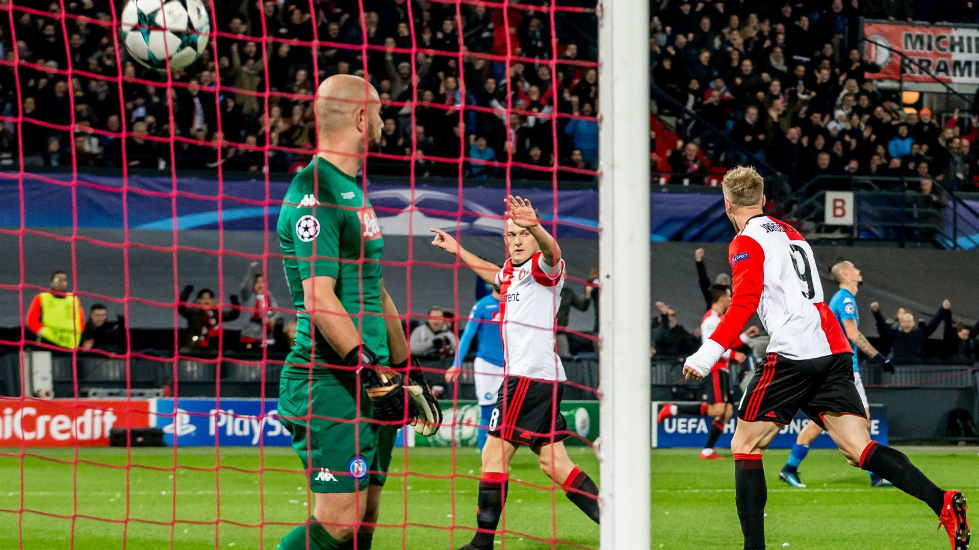 Reina Feyenoord Napoli Champions League