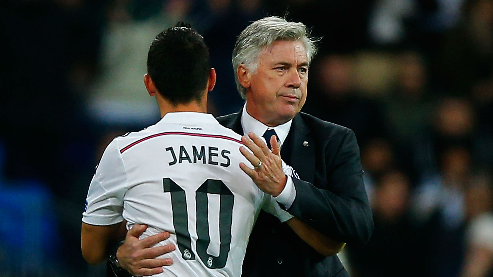 James Rodríguez & Carlo Ancelotti en Real Madrid