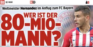 Lucas Hernandez Atletico Bayern