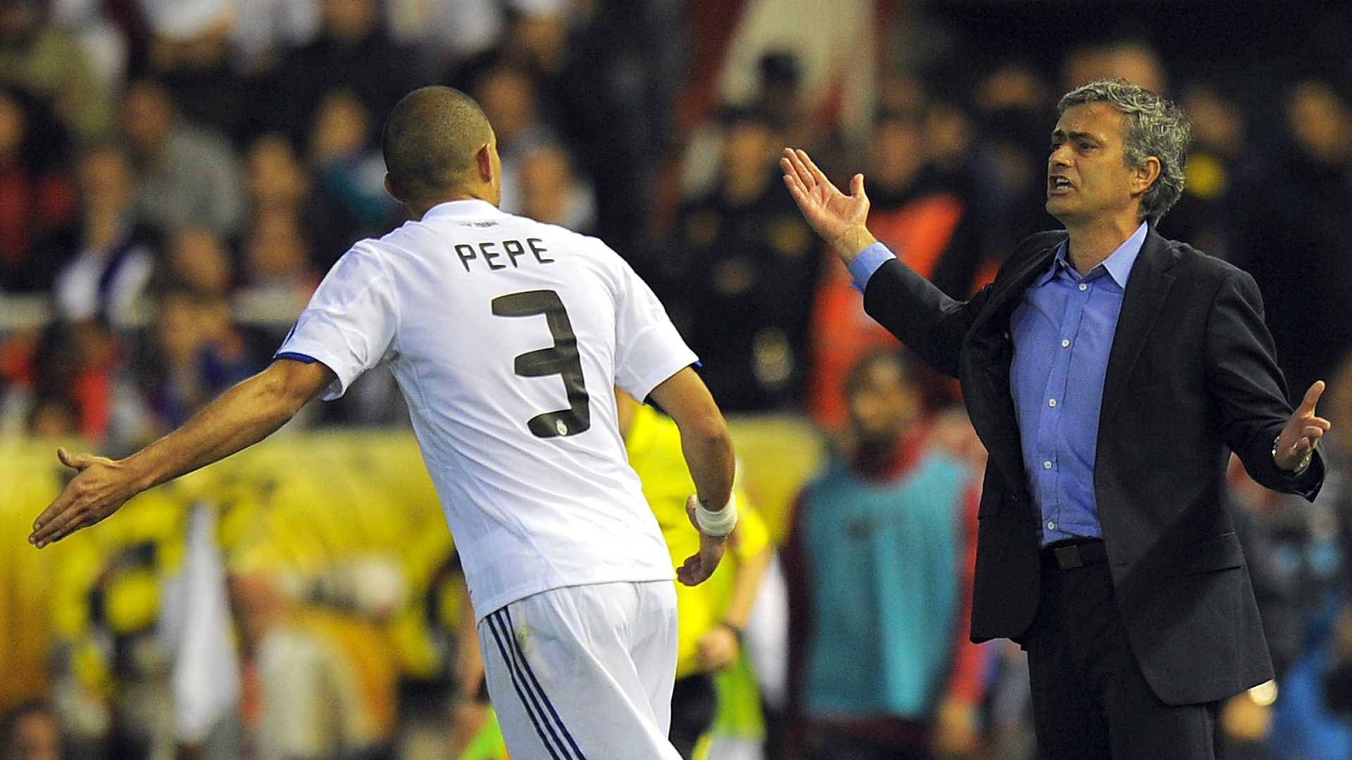 Jose Mourinho Pepe Real Madrid