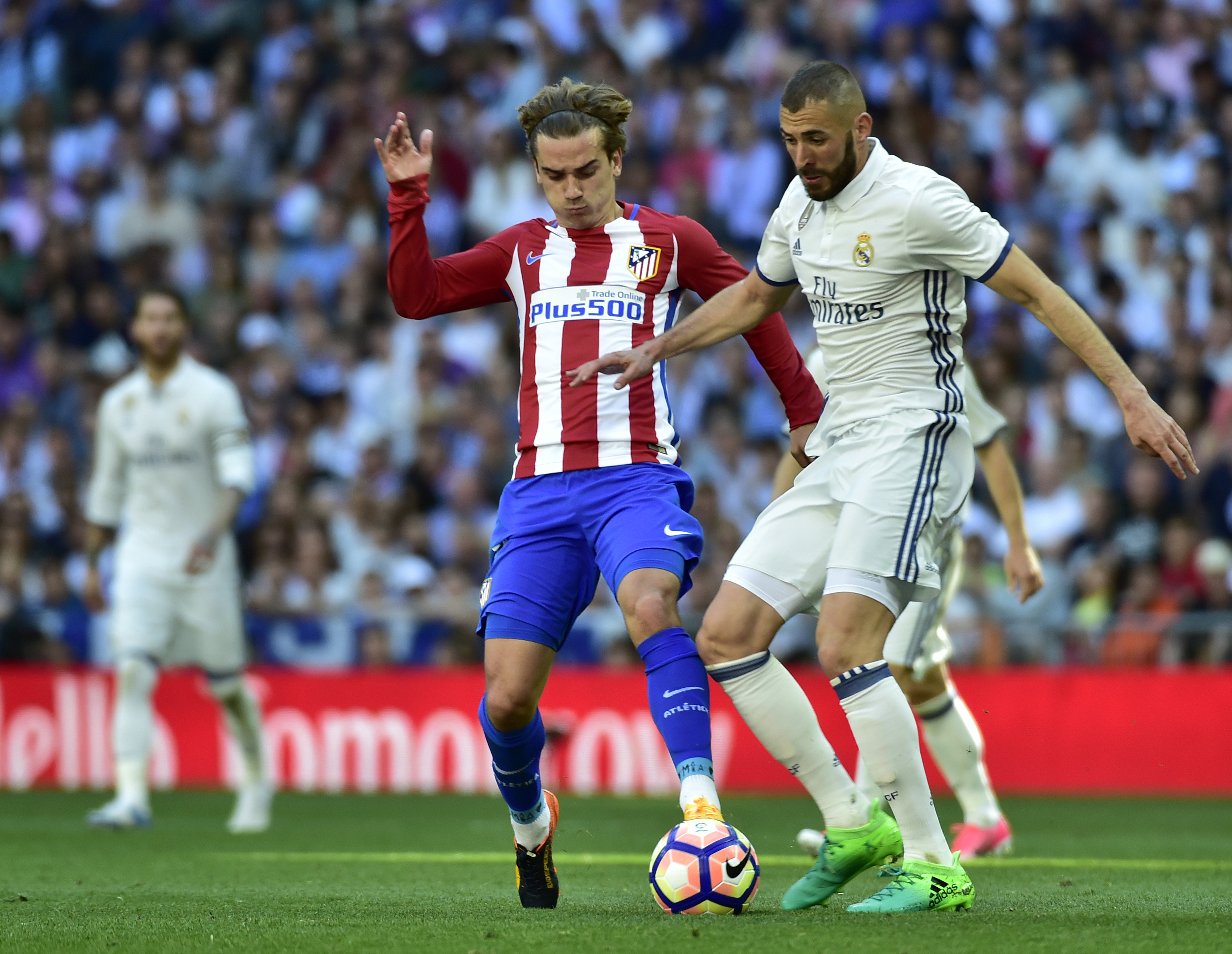 Griezmann Benzema Atletico Real