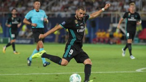 Karim Benzema Real Madrid Manchester United UEFA Supercup
