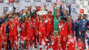 FC Bayern München Meisterfeier Bundesliga 18052019