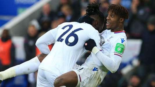 Bakary Sako, Wilfried Zaha - Leicester City Crystal Palace