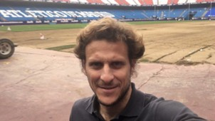 Diego Forlan Vicente Calderón