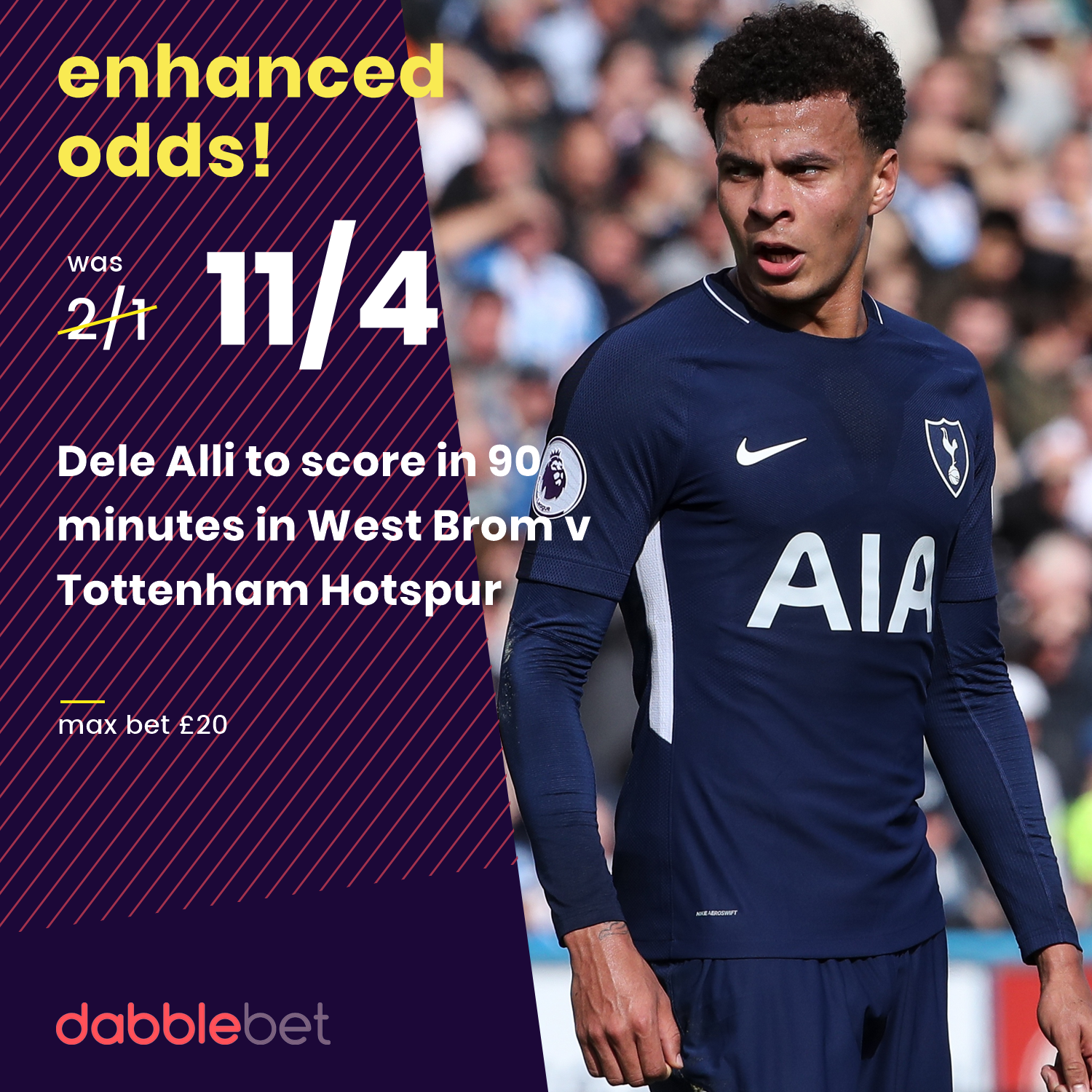 Alli boost WBA graphic