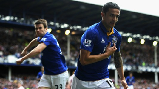 Tim Cahill Everton