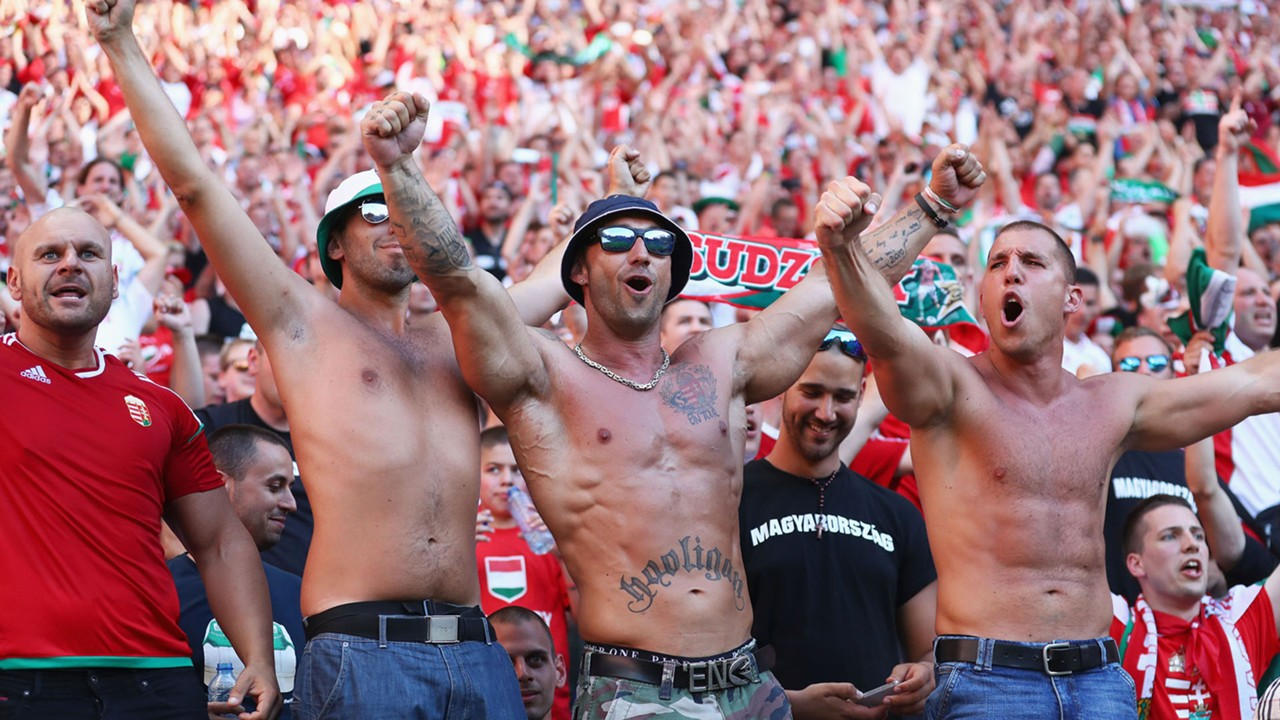 Hungary fans Euro 2016 European Championships France