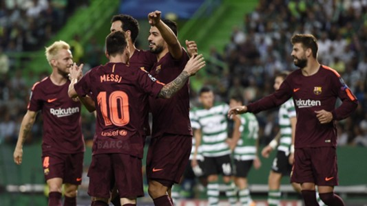 Sporting CP Barcelona UCL 27092017