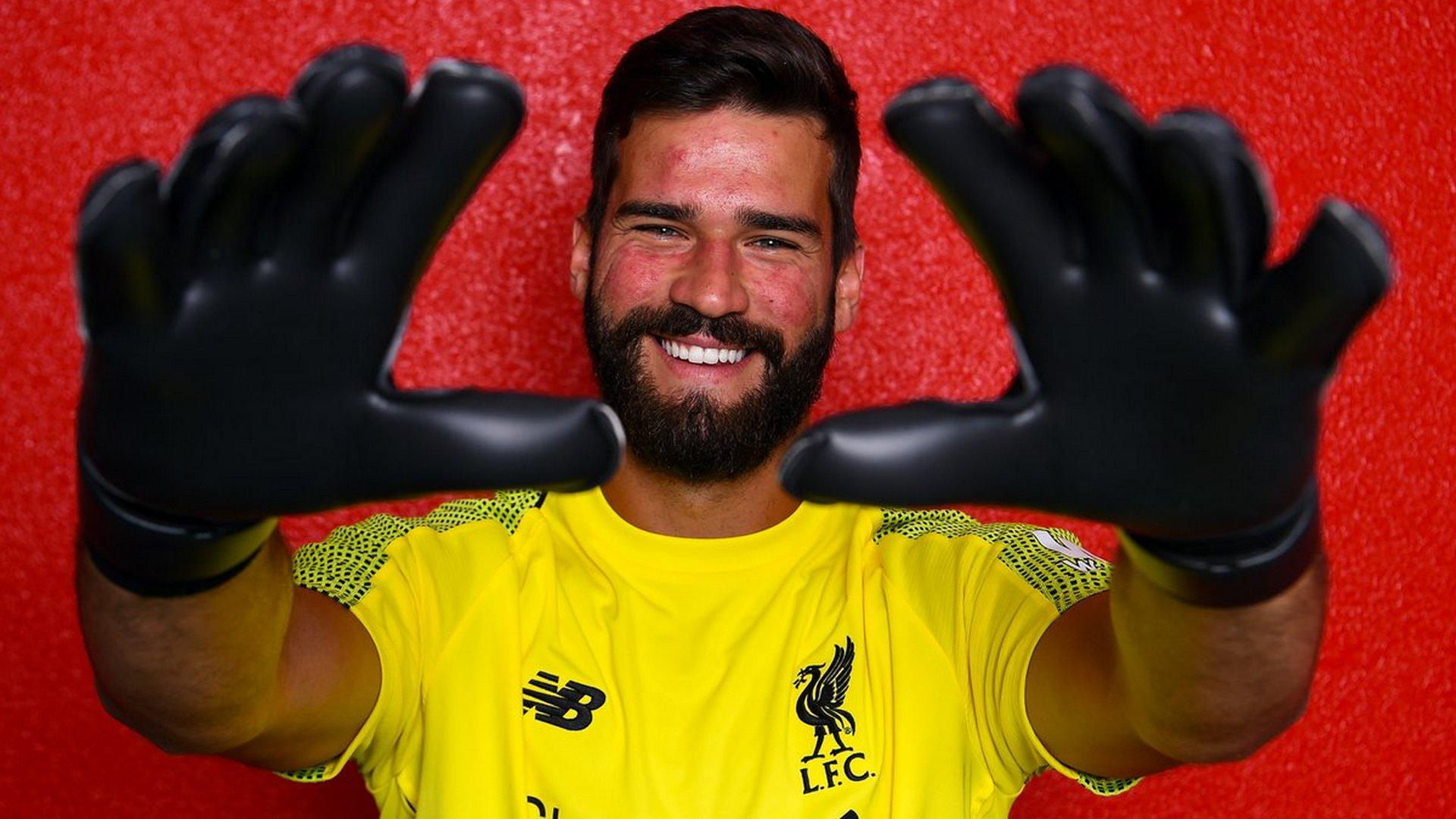 Alisson Becker Liverpool