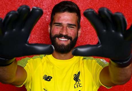 Liverpool complete record £65m signing of Alisson