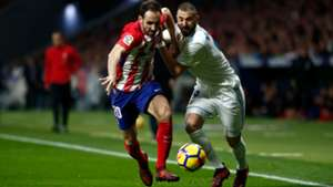Atletico Real Madrid Benzema Juanfran 18112017