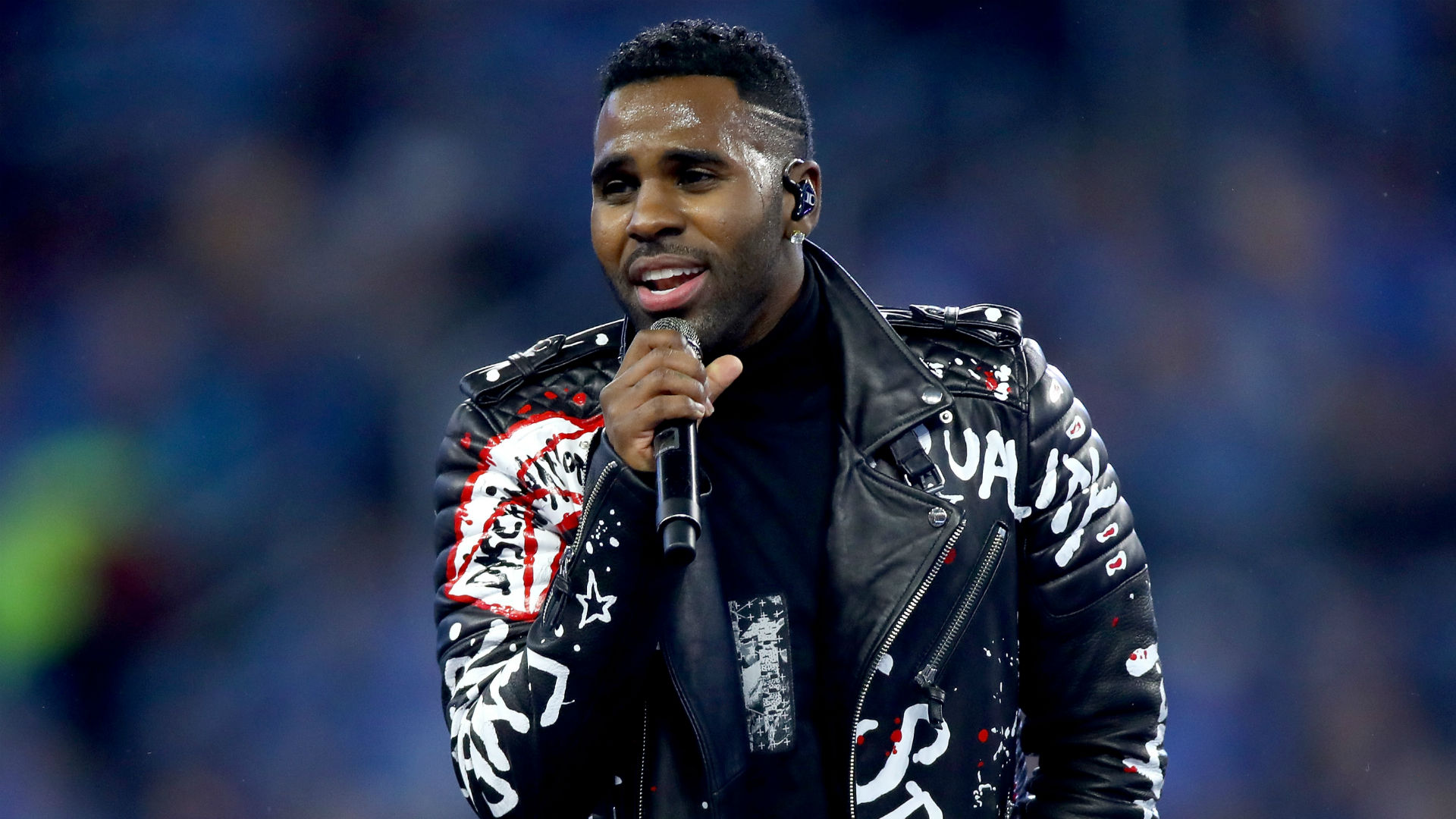 Jason Derulo perfomed 'Color' Official songs of FIFA World Cup 2018