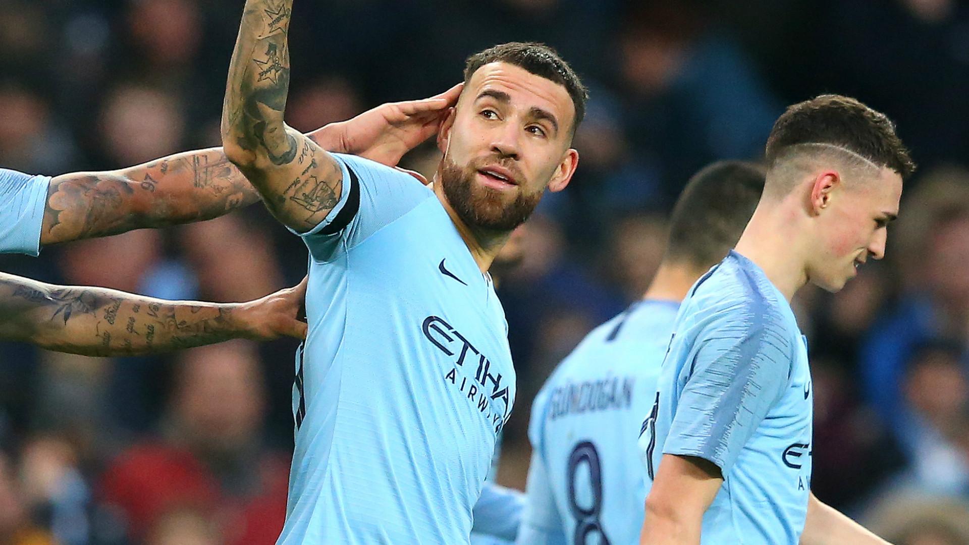 Nicolas Otamendi Manchester City 2018-19