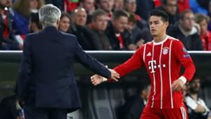 James Rodríguez & Ancelotti Bayern Munich