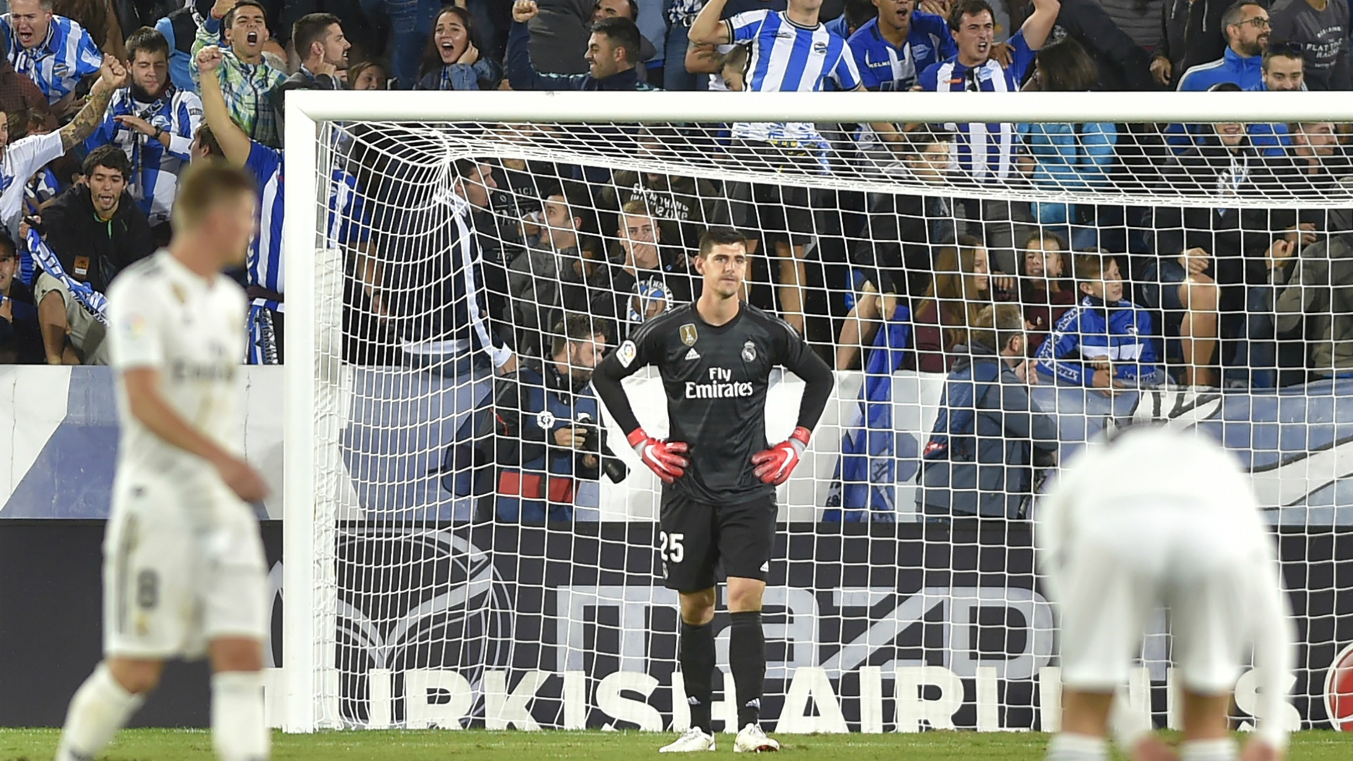 Thibaut Courtois, Real Madrid v Alaves, 2018