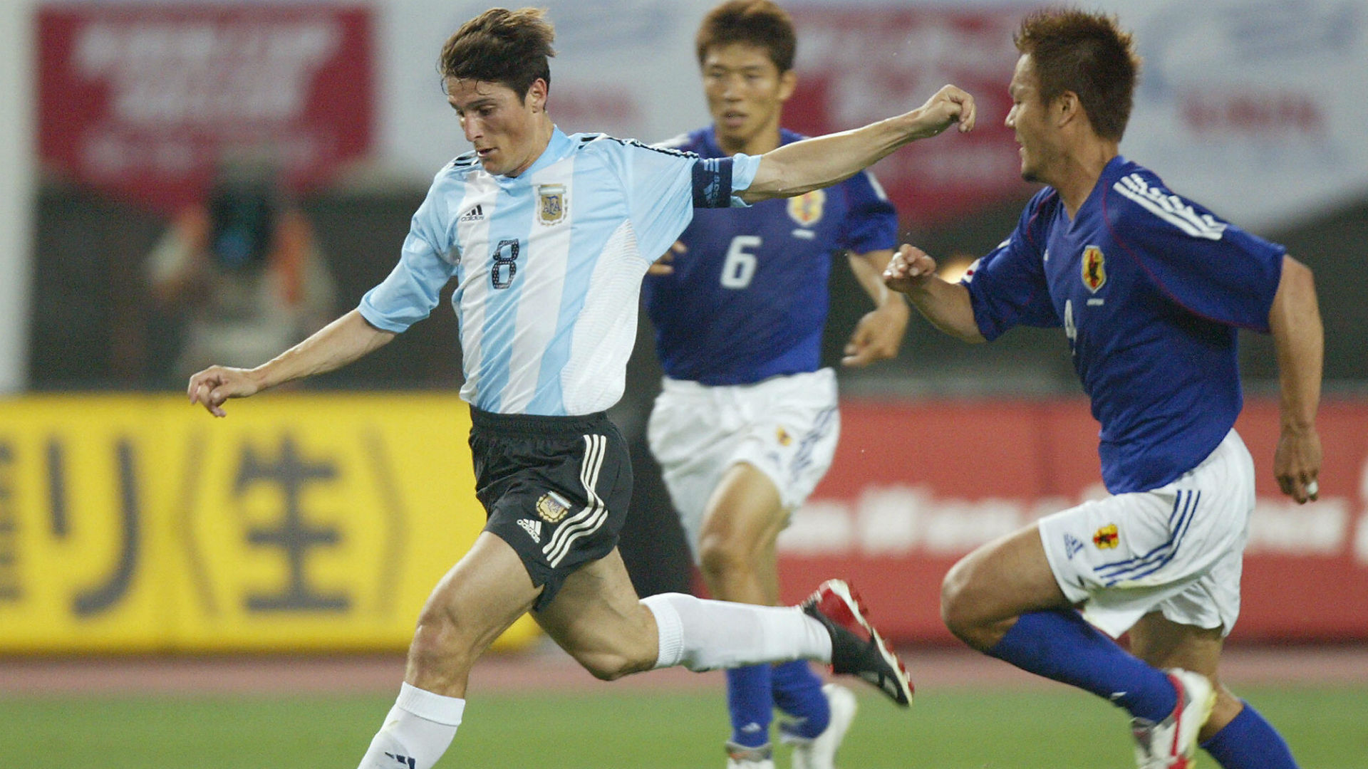 Javier Zanetti Japon Argentina Copa Kirin Junio 2003