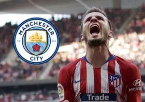 <h2> 93 MILLIONEN EURO! MANCITY VOR SAUL-TRANSFER </h2> <p> Der englische Meister Manchester City steht unmittelbar vor einer Verpflichtung von Atletico Madrids Mittelfeldstar Saul Niguez. Der 24-jährige Spanier soll in der Zentrale das Erbe von Fern...